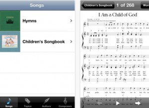 LDS Music Mobile App