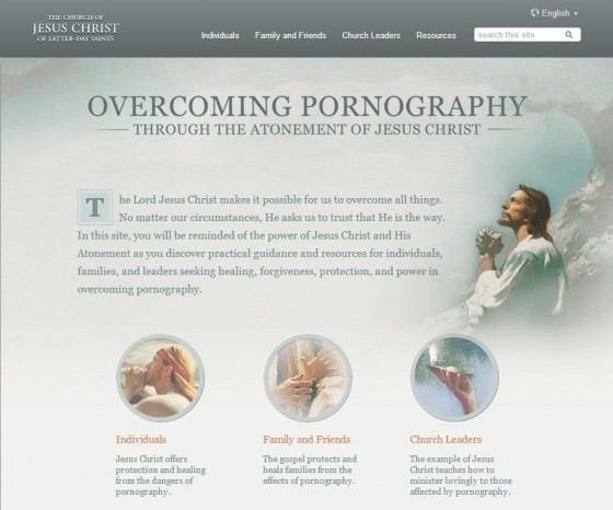 Overcoming Pornography Website
