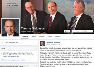 LDS Leaders Active on Social Media