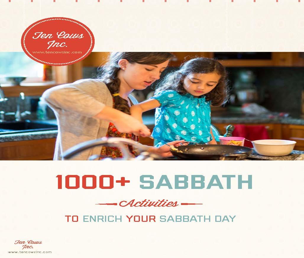 1000+ Sabbath Activities