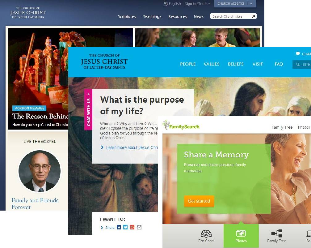 LDS Church Websites | LDS365: Resources from the Church