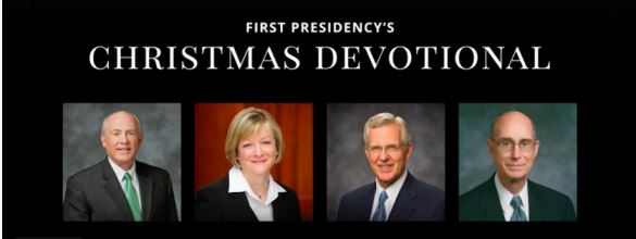 Lds Christmas Devotional.First Presidency S Christmas Devotional 2014 Lds365