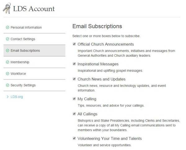 Subscribe to Updates from LDS Church | LDS365: Resources from the