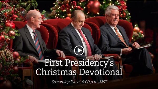 Lds Christmas Devotional.First Presidency S Christmas Devotional 2015 Lds365