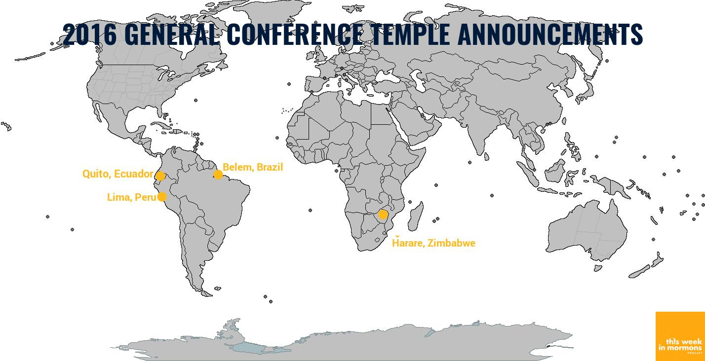 Four New LDS Temples Announced | LDS365: Resources from the Church ...