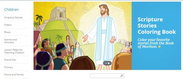Lds Videos For Children Lds365 Resources From The Church Latter