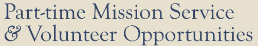 Missionary Service Opportunities