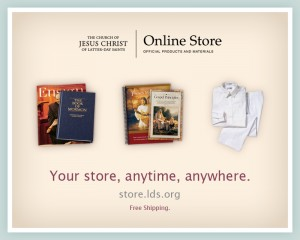 New LDS Online Store for Church Materials