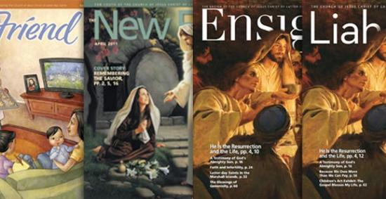 40 Years of Church Magazines