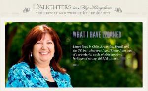 Daughters in My Kingdom Website