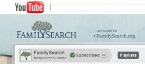 FamilySearch ExpandsYouTube Channel
