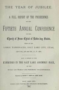 Older LDS General Conferences
