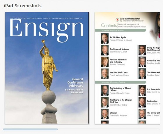 Ensign Mobile App Updated