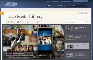 LDS Media Library Audio Page