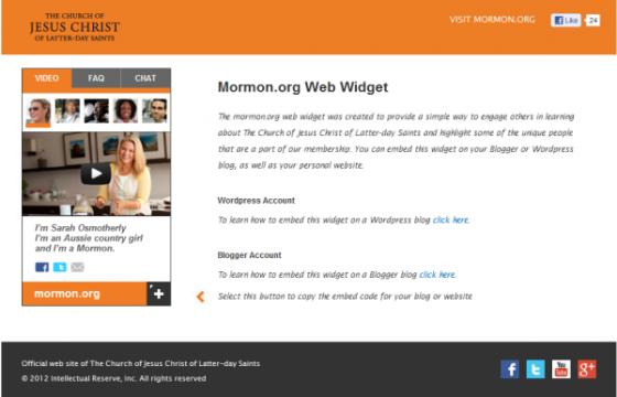 Mormon.org Widget