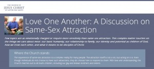 LDS Website About Same-Sex Attraction