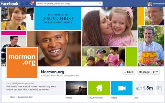 1.5 Million Fans of Mormon.org on Facebook