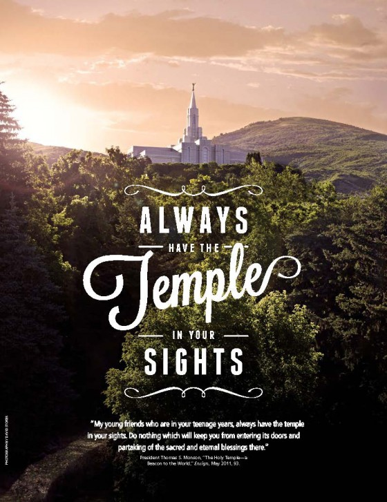 Keep LDS Temples in Your Sights
