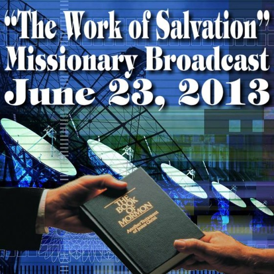 """""""The Work of Salvation"""" Missionary Broadcast"""
