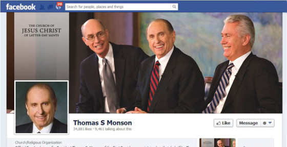 Social Media Pages for LDS Leaders