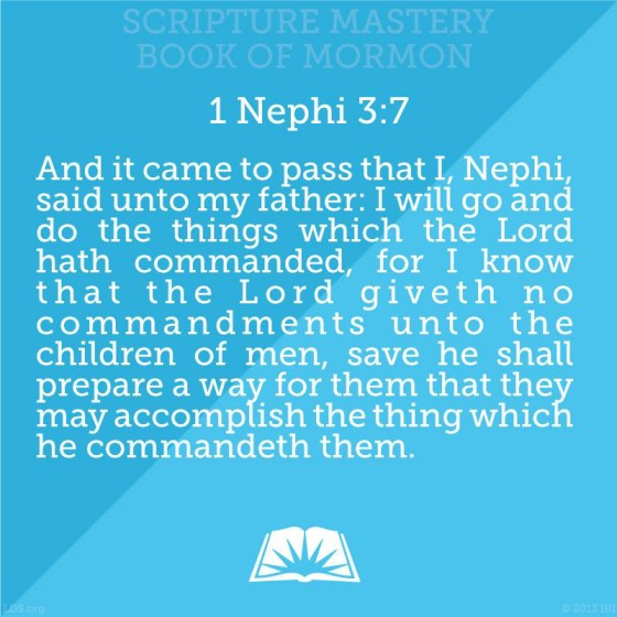 LDS Seminary Mastery Scriptures