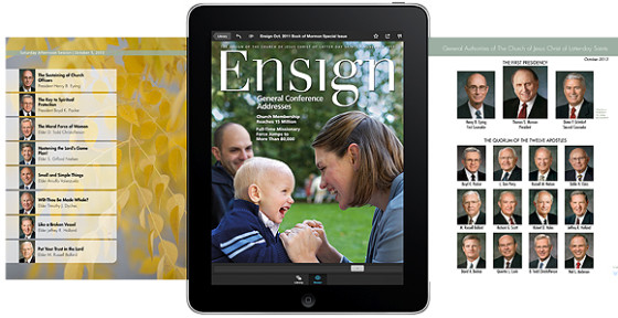 Ensign Mobile App November 2013 LDS General Conference