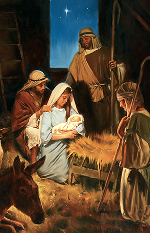 #ShareGoodness Idea: Christmas is About Jesus Christ