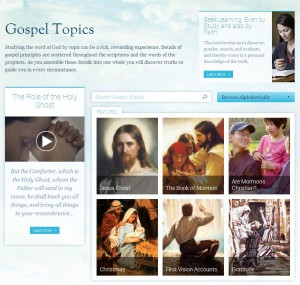 Gospel Topics for Personal and Family Study