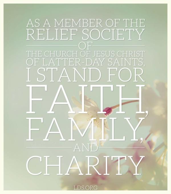 Happy 172nd Birthday, Relief Society!