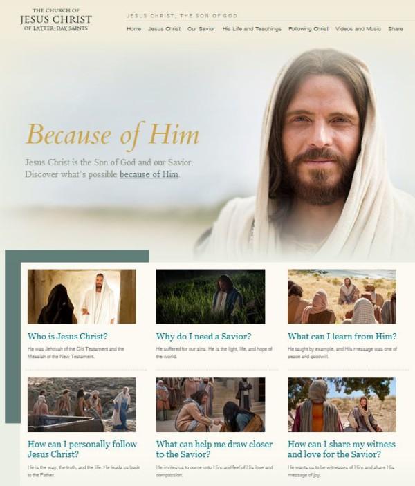 Website About Jesus Christ