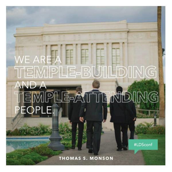 LDS Temple Building