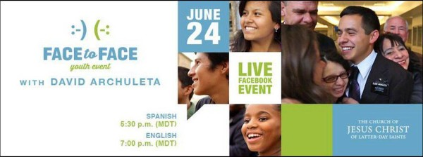 Live Facebook Event for LDS Youth with David Archuleta