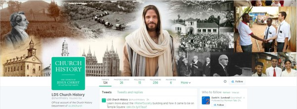 2 New LDS Church History Twitter Accounts
