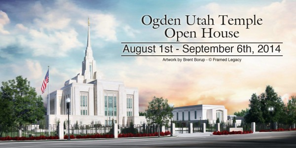 Ogden Utah Temple Open House and Rededication