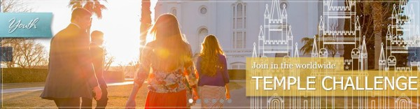 LDS Youth Temple Challenge