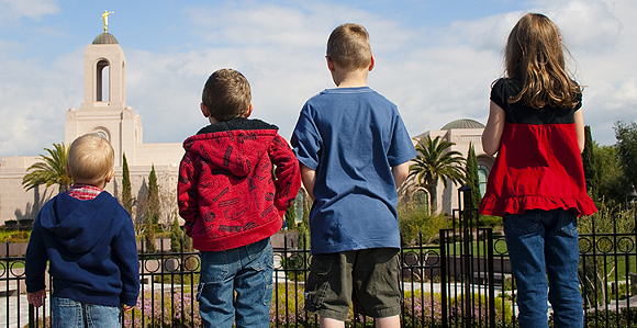 3 Ways to Prepare Children for the LDS Temple
