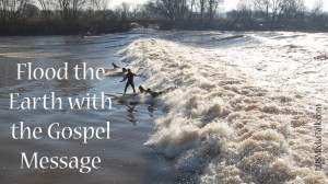 Seminary Class Responds to Challenge to Flood Earth with Gospel