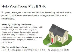 Keeping Kids Safe on Facebook