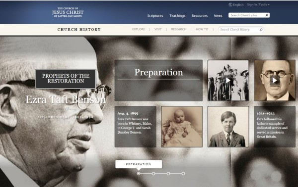 Online Exhibit: Life of President Ezra Taft Benson