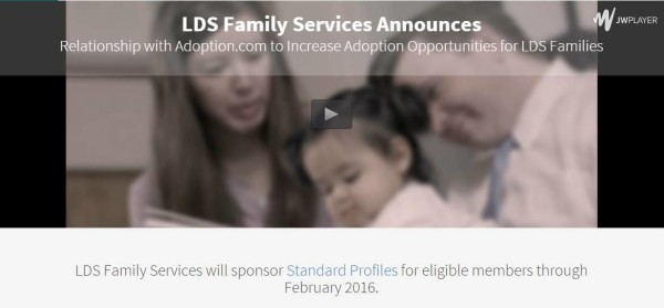 LDS Family Services Partners with Adoption.com