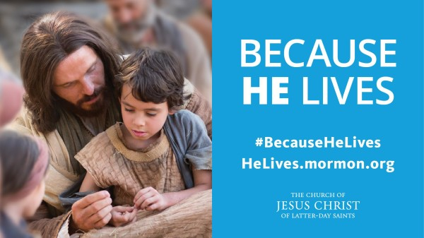 Easter Invitation: Because He Lives