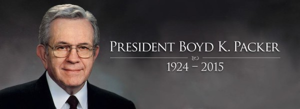 President Boyd K. Packer Dies At Age 90