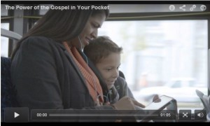 Video: The Power of the Gospel in Your Pocket