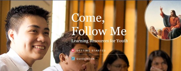 """Come, Follow Me"" LDS Youth Curriculum for 2016"