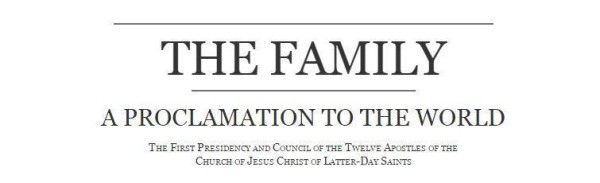 20th Anniversary of LDS Family Proclamation