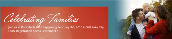 RootsTech 2016 Open for Registration