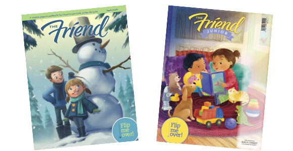 Friend Magazine Adds Junior Section for Younger Children