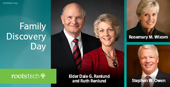 Watch Live Streaming of RootsTech Family Discovery Day, Feb. 6