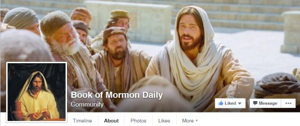 Read the Book of Mormon Daily in 2016