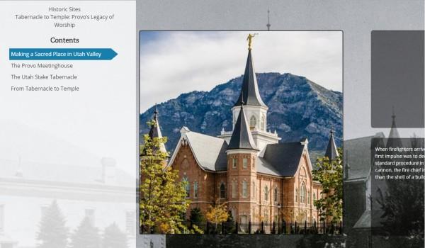 Online Exhibit of LDS Provo City Center Temple